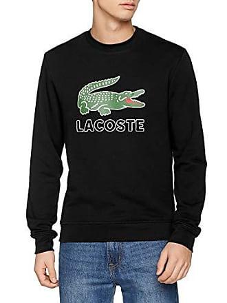 023cdb62c3 Lacoste SH6382 Sweat-Shirt Homme Noir (Noir 031) XXXX-Large (Taille