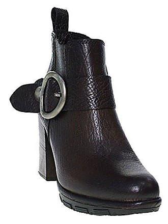 Mjus Stiefelette Ankle Boot Blockabsatz   Braun Cacao, Farbe Braun Größe 39 b45a2104a8