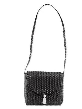 Novica Plastic shoulder bag, Classic Panther