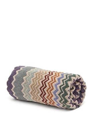 Missoni Home Rufus Zigzag Cotton Bath Sheet - Brown Multi