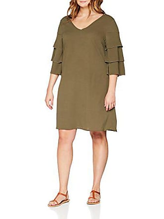 8fc8eb5eb76d02 Junarose Dames jurk - groen (ivy green)
