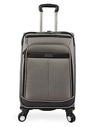 5b4262ed9 Perry Ellis Lexington II Lightweight Carry-on Spinner Luggage, Herringbone