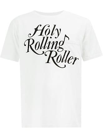 TAKAHIROMIYASHITA TheSoloist. Camiseta Holy Rolling Roller - Branco