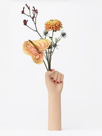 Doiy Design Girl Power Vase - Large - Brown/Natural/Pink