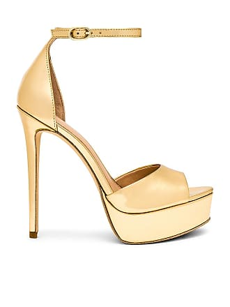 Rachel Zoe Margo Platform Sandal in Metallic Gold