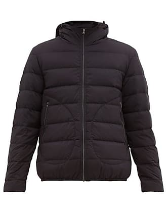 Herno Il Bomber Quilted Down Jacket - Mens - Navy