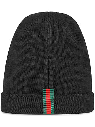 15941cdb548 Gucci Wool hat with Web - Black