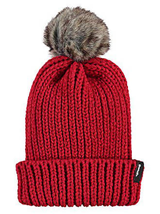 c8fe1f0caa Bench Turn Up Fur Pom Beanie Bonnet, Rouge (Bright Red Rd038), Taille