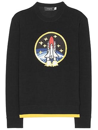 Coach Rocket Shuttle embellished wool sweater