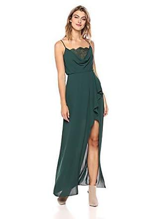 Bcbgmaxazria BCBGMax Azria Womens Lace-Trimmed Blouson Gown, Fern 2