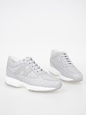 Hogan Sneakers in Pelle con Glitter taglia 38 c643df5594e