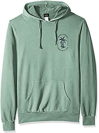 Rip Curl Mens Sun Bleached PO Fleece, Green M