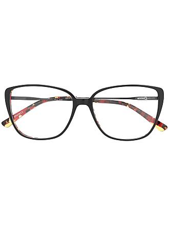 Etnia Barcelona Armação de óculos Praia oversized - Preto