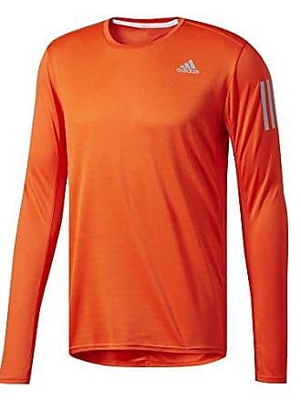 d61a96276a1 adidas Adidas RS LS thee m t-shirt voor heren, oranje, xxl