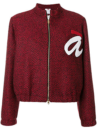 Ultra Chic cropped logo jacket - Red