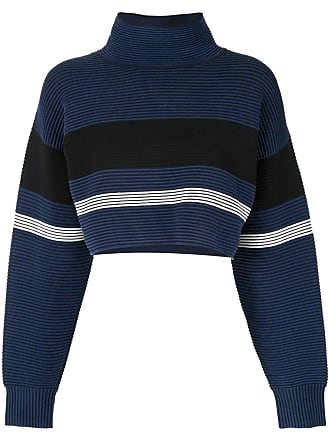 Nagnata Suéter cropped gola alta - Azul