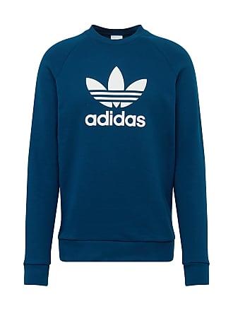 6c988d7fbcc adidas Sweatshirt TREFOIL CREW marine / wit
