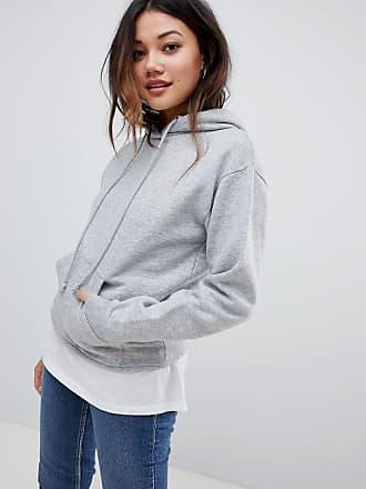 Brave Soul clara hoodie - Gray