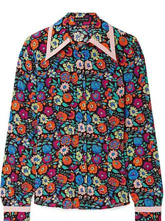 1f71324e51625 Etro Floral-print Silk Shirt - Black