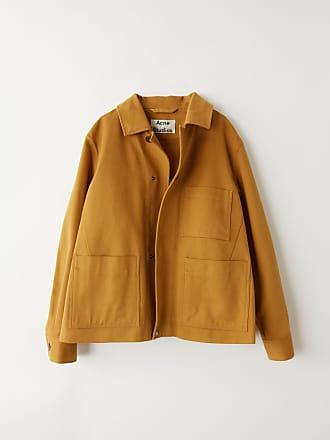 Acne Studios FN-MN-OUTW000068 Antique brown Cotton jacket