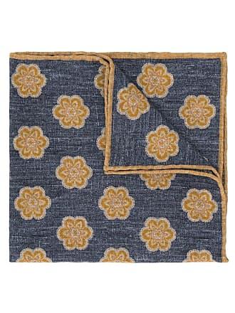Eleventy floral print scarf - Azul