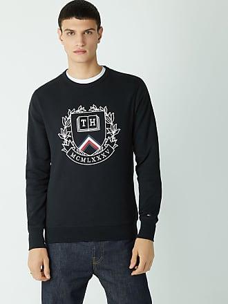 T shirt à manches longues en tissu éponge à couleurs contrastées Tommy Hilfiger