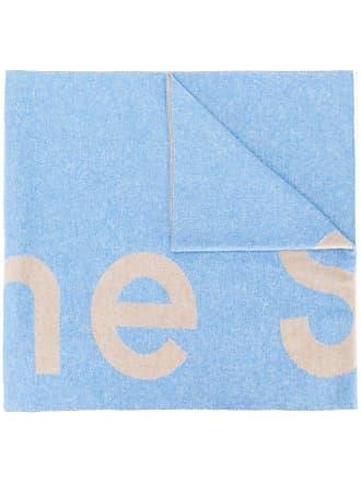Acne Studios Toronty logo scarf - Azul