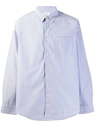 Visvim Camisa slim mangas longas - Azul