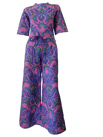5fa2ff1cb1e 1stdibs 1960s Design Thai Quilted Wide-legged Jumpsuit