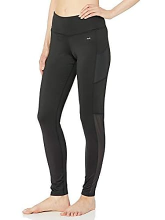 Maidenform Womens Midweight Baselayer Pant, Black, Large