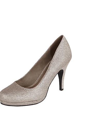 832be9b7e24982 Versand  kostenlos. Tamaris High Heels mit Glitter-Effekt