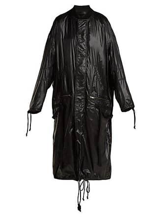 Haider Ackermann High Shine Shell Coat - Womens - Black