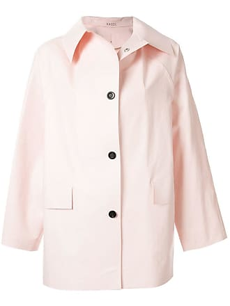 Kassl Editions Trench coat curto - Rosa
