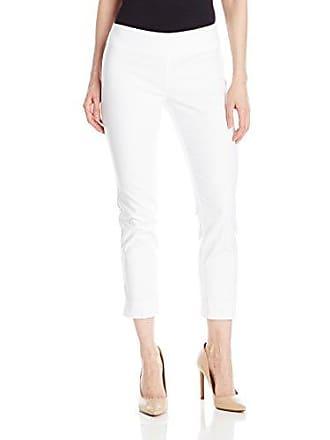 Nic+Zoe Womens Petite Size Perfect Pant Modern Slim Ankle, Paper White, 14P