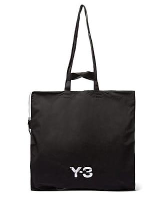 d669818e30 Yohji Yamamoto Logo Print Oversized Tote - Mens - Black