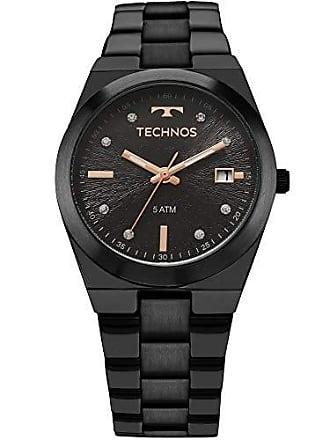 Technos Relógio Technos Feminino Ref: 2115kzs/5p Casual Black