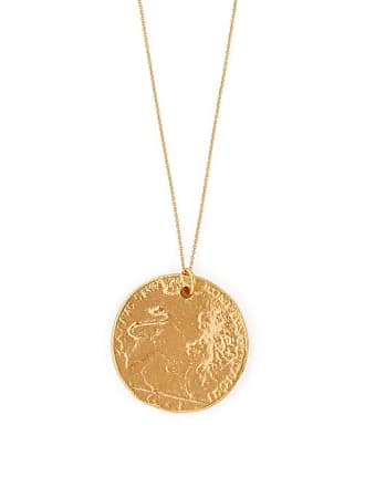 ALIGHIERI Il Leone 24kt Gold Plated Necklace - Womens - Gold