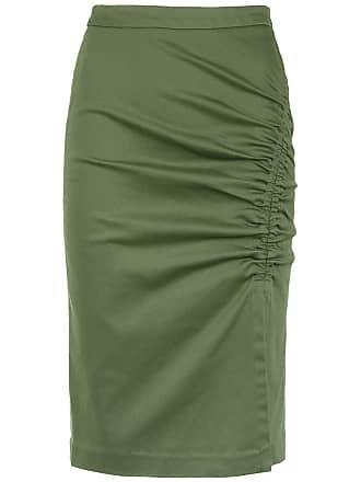 Isolda Saia lápis Heliconia - Verde