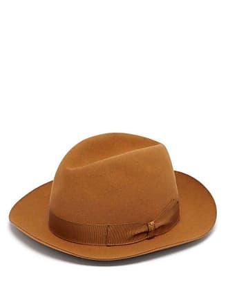 Borsalino Alessandria Felt Hat - Mens - Camel 47b8d71ec2d4