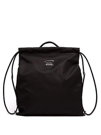 056973326419 Christian Louboutin Kaloubi Leather Trimmed Nylon Backpack - Mens - Black