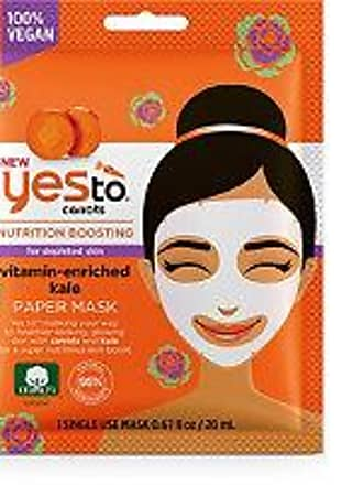 Yes To Carrots Kale Paper Mask