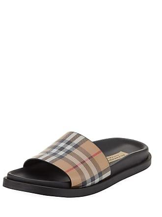 3d369be91 Burberry English Icons Vintage Check Slide Sandal