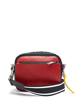 438e4ee10c84 Givenchy Mc3 Leather Cross Body Bag - Mens - Black Red
