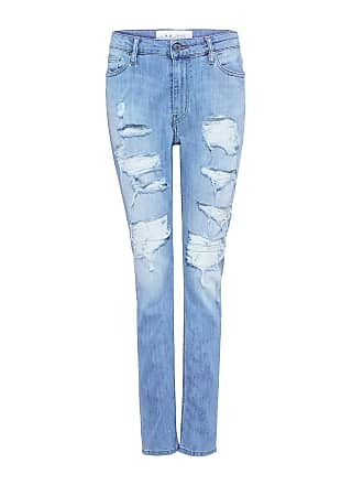 Iro MANDY Distressed Boyfriend Jeans Bleached Blue