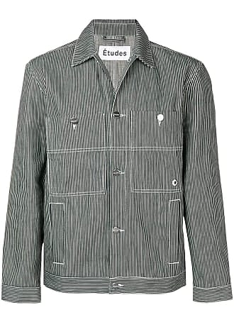 Études Studio pinstriped jacket - Black