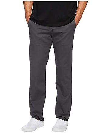 9eb5256c6229fe Vans Authentic Stretch Chino Pants (Asphalt) Mens Casual Pants