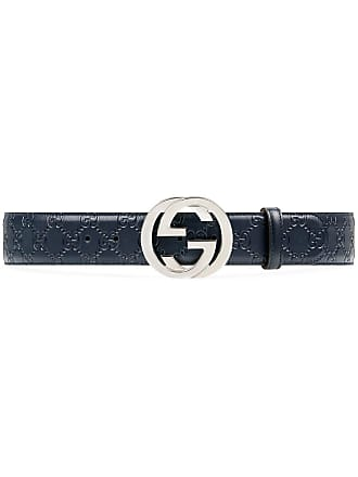 d366408d44a Gucci Gucci Signature leather belt - Blue