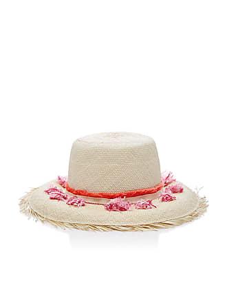 YESTADT MILLINERY Playa Tasseled Straw Bucket Hat 539db152e15a