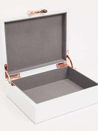 Ted Baker medium jewellery box-White