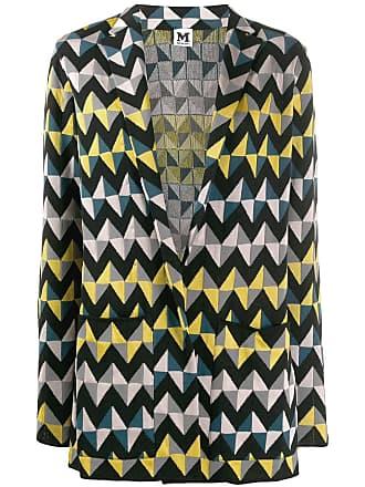 M Missoni geometric print blazer - Preto